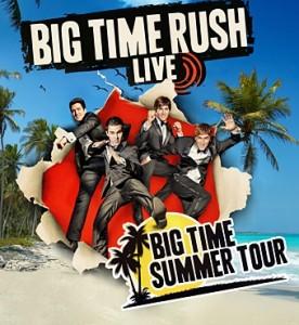 Big Time Rush at the Shoreline Amphitheatre