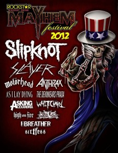 Rockstar Energy Mayhem Festival at The Shoreline Amphitheatre