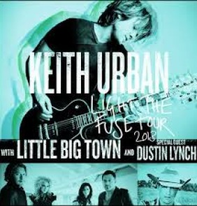 Keith Urban, Little Big Town & Dustin Lynch at the Shoreline Amphitheatre