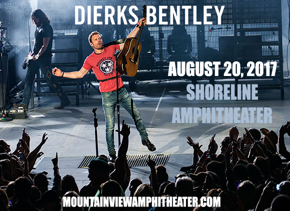 Dierks Bentley, Cole Swindell & Jon Pardi  at Shoreline Amphitheatre