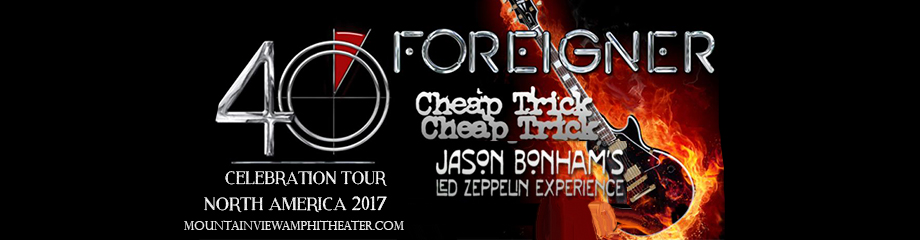 Foreigner & Cheap Trick at Shoreline Amphitheatre