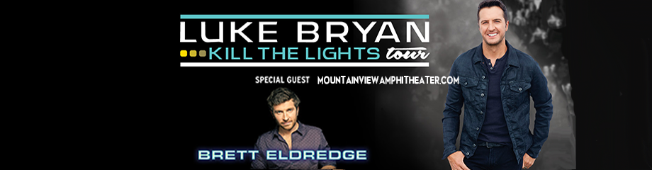 Luke Bryan & Brett Eldredge at Shoreline Amphitheatre