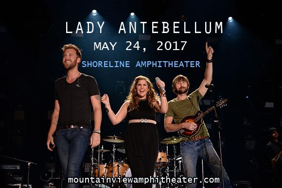 Lady Antebellum, Kelsea Ballerini & Brett Young at Shoreline Amphitheatre
