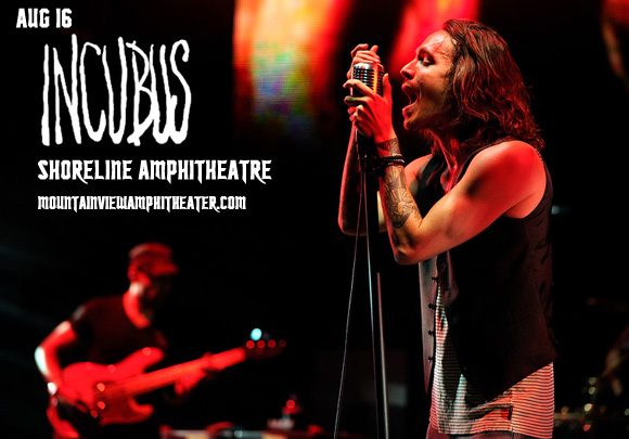 Incubus & Jimmy Eat World at Shoreline Amphitheatre