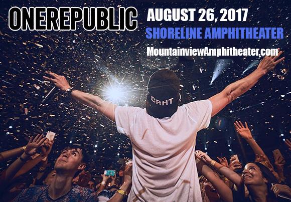 OneRepublic, Fitz and The Tantrums & James Arthur at Shoreline Amphitheatre