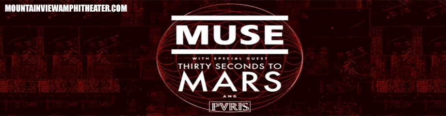 Muse & 30 Seconds To Mars at Shoreline Amphitheatre
