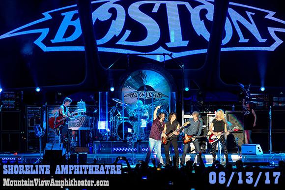 Boston - The Band & Joan Jett and The Blackhearts at Shoreline Amphitheatre
