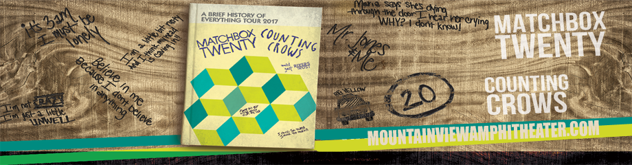 Counting Crows & Matchbox Twenty at Shoreline Amphitheatre