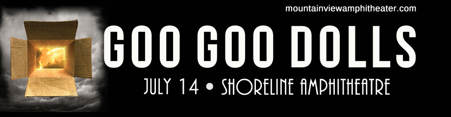 The Goo Goo Dolls & Phillip Phillips at Shoreline Amphitheatre