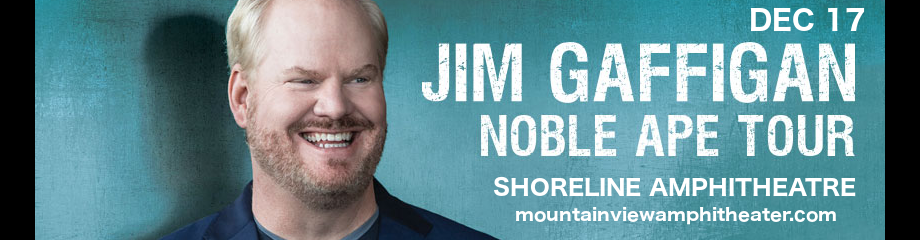 Jim Gaffigan at Shoreline Amphitheatre