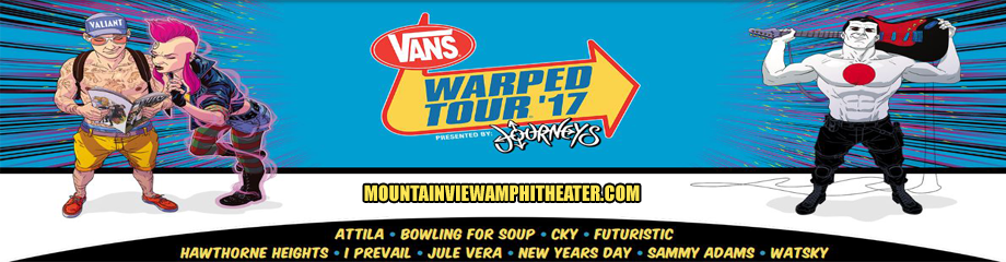 Vans Warped Tour at Shoreline Amphitheatre