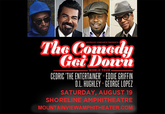 The Comedy Get Down Tour at Shoreline Amphitheatre
