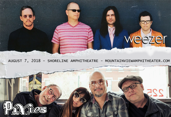 Weezer & Pixies at Shoreline Amphitheatre