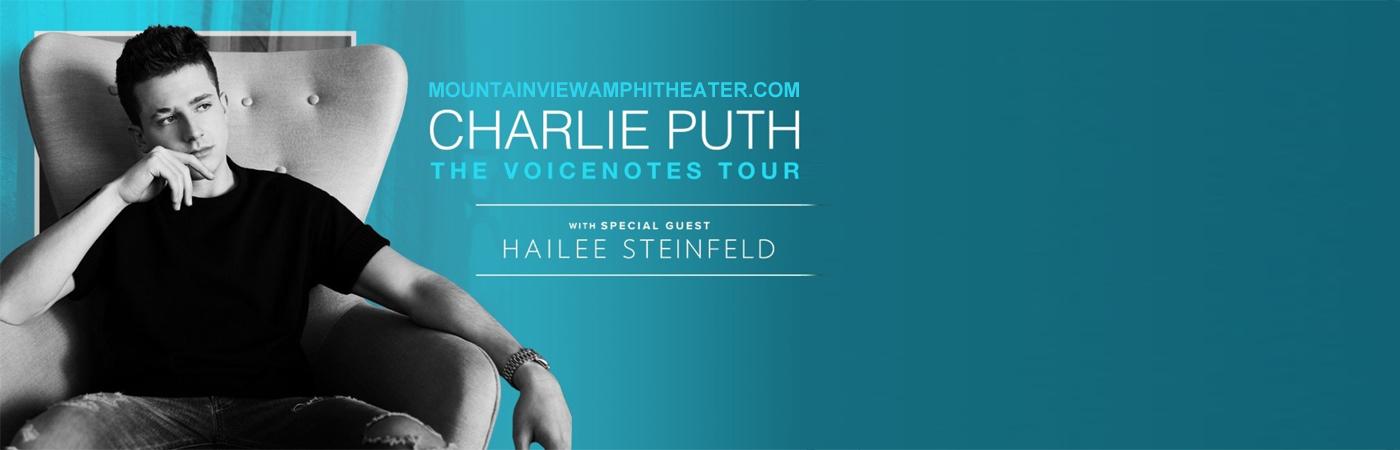 Charlie Puth & Hailee Steinfeld at Shoreline Amphitheatre