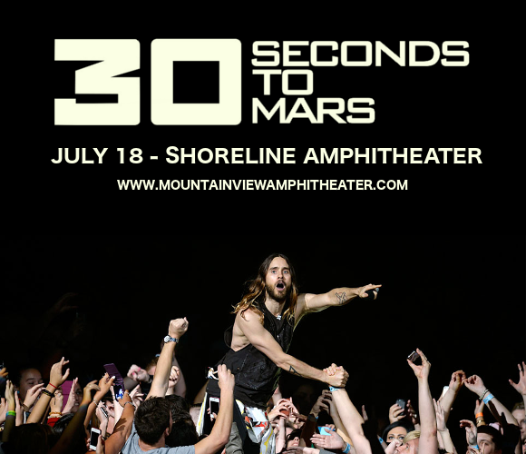 30 Seconds To Mars, Walk The Moon & Welshly Arms at Shoreline Amphitheatre