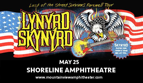 Lynyrd Skynyrd at Shoreline Amphitheatre