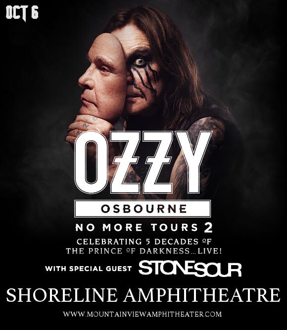 Ozzy Osbourne & Stone Sour at Shoreline Amphitheatre