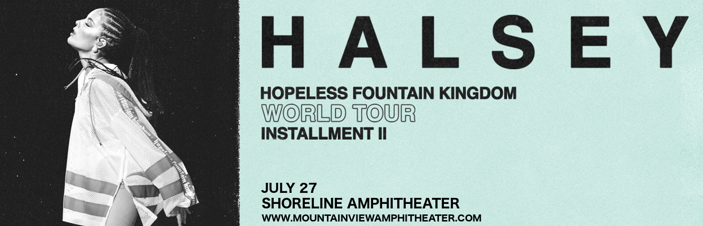 Halsey at Shoreline Amphitheatre