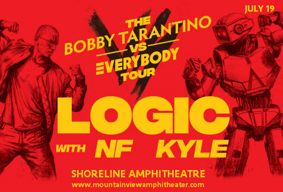 Logic, NF & Kyle at Shoreline Amphitheatre