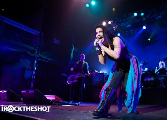 Evanescence at Shoreline Amphitheatre