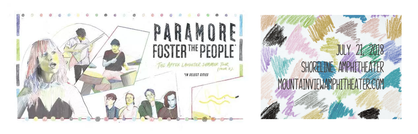 Paramore & Foster The People at Shoreline Amphitheatre