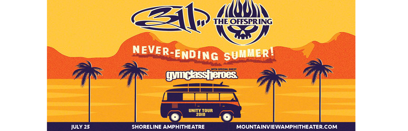 311 & The Offspring at Shoreline Amphitheatre