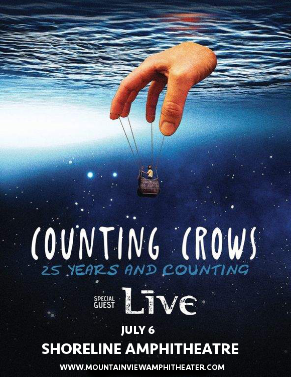 Counting Crows & Live - Band at Shoreline Amphitheatre