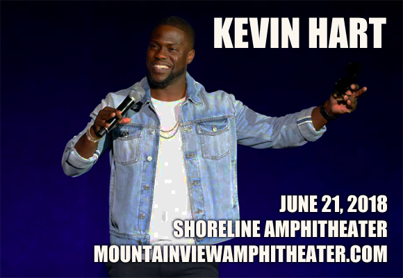Kevin Hart at Shoreline Amphitheatre