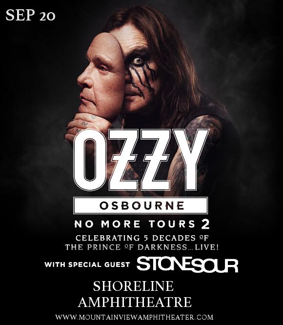 Ozzy Osbourne at Shoreline Amphitheatre