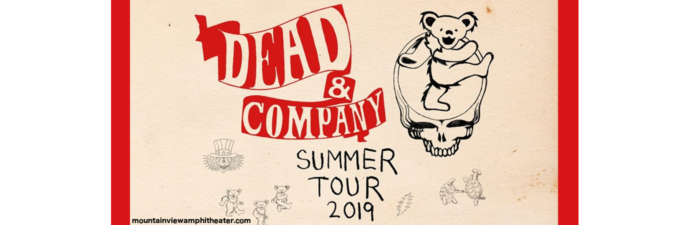 Dead & Company at Shoreline Amphitheatre