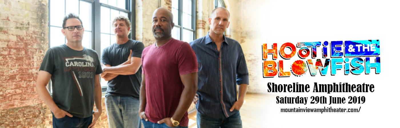 Hootie & The Blowfish at Shoreline Amphitheatre