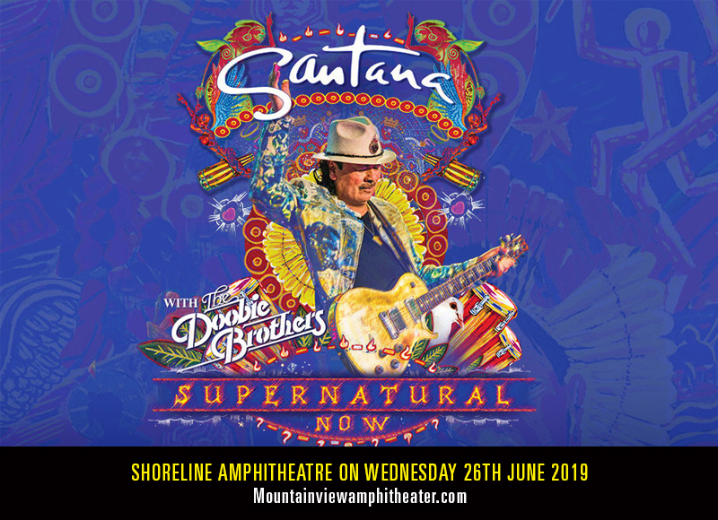 Santana at Shoreline Amphitheatre