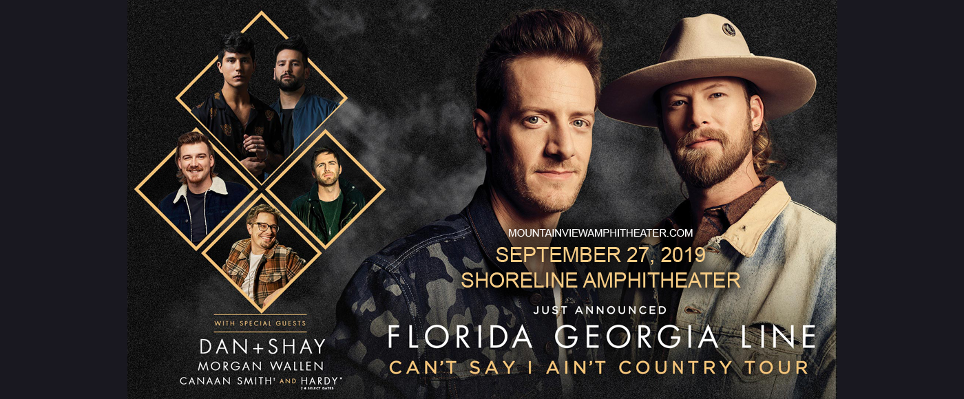 Florida Georgia Line, Dan and Shay & Morgan Wallen at Shoreline Amphitheatre
