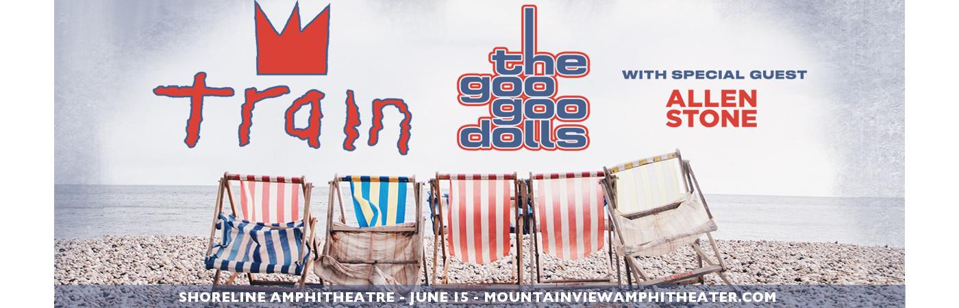Train, Goo Goo Dolls & Allen Stone at Shoreline Amphitheatre