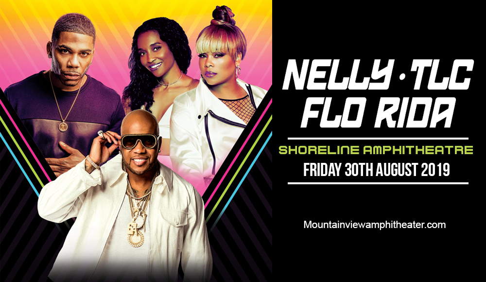 Nelly, TLC & Flo Rida at Shoreline Amphitheatre