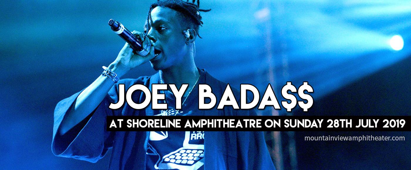 Joey Bada$$ at Shoreline Amphitheatre