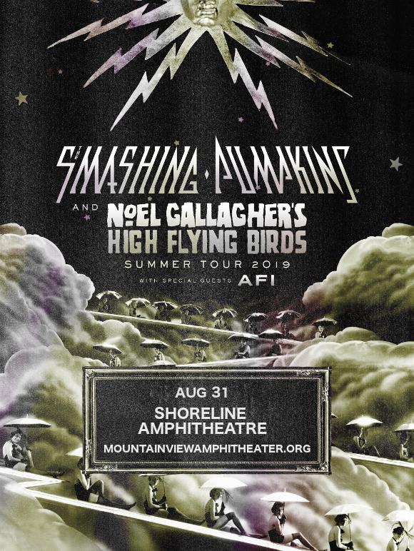Smashing Pumpkins & Noel Gallagher's High Flying Birds at Shoreline Amphitheatre