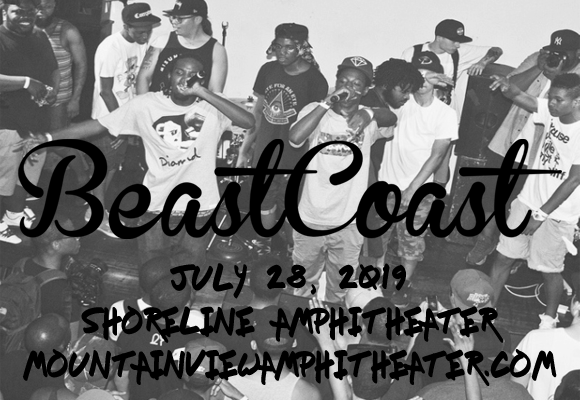 Beast Coast: Joey Bada$$, Flatbush Zombies, The Underachievers, Kirk Knight & Nyck Caution at Shoreline Amphitheatre