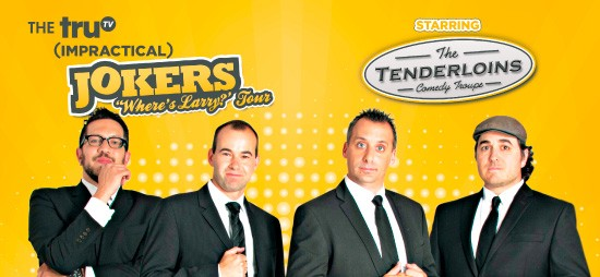 Cast of Impractical Jokers & The Tenderloins at Shoreline Amphitheatre