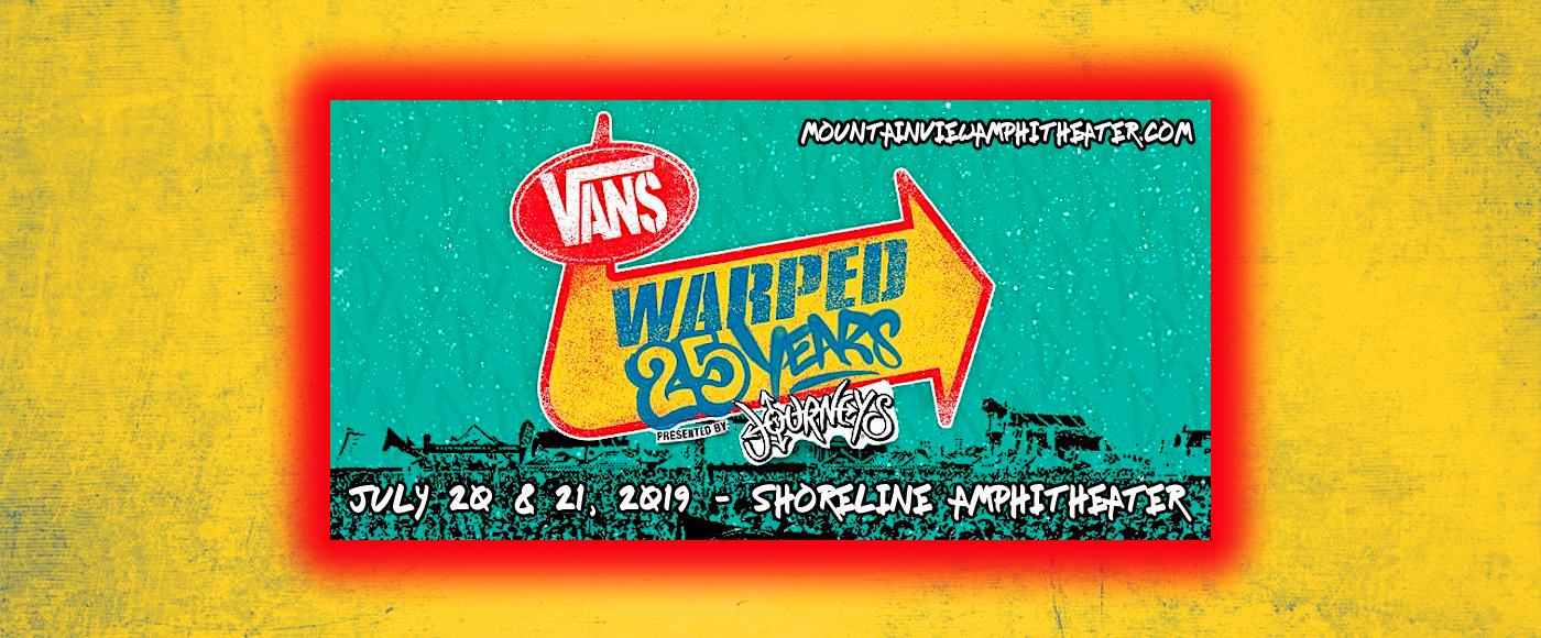 Vans Warped Tour - 2 Day Pass at Shoreline Amphitheatre