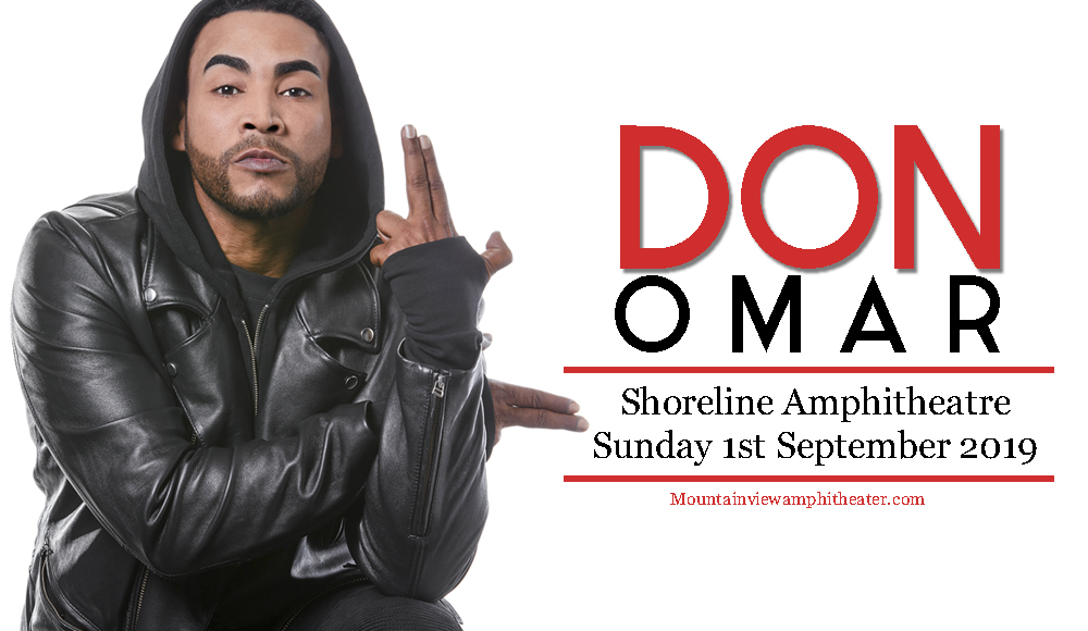 Don Omar at Shoreline Amphitheatre