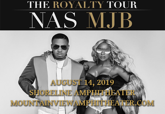 Mary J. Blige & Nas at Shoreline Amphitheatre