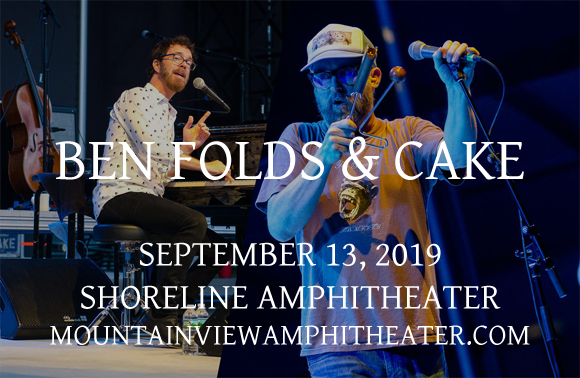 Ben Folds & Cake at Shoreline Amphitheatre