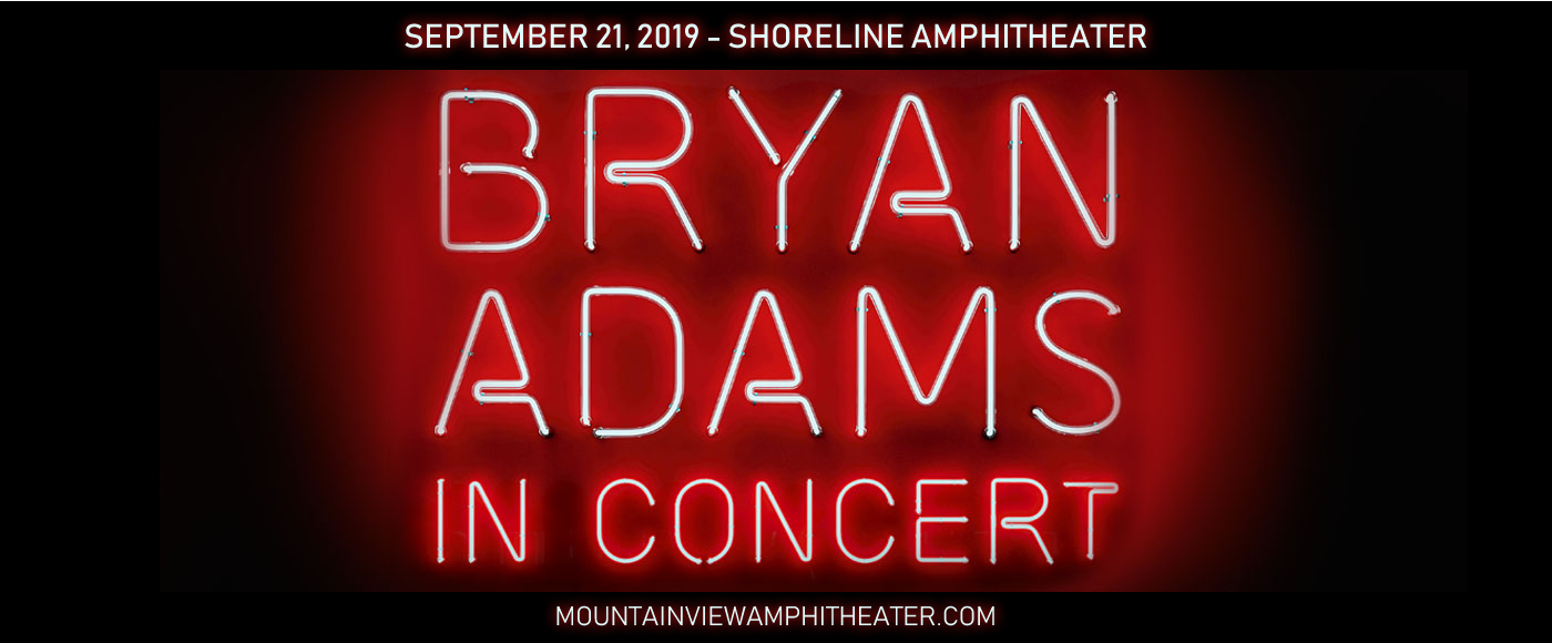 Bryan Adams at Shoreline Amphitheatre