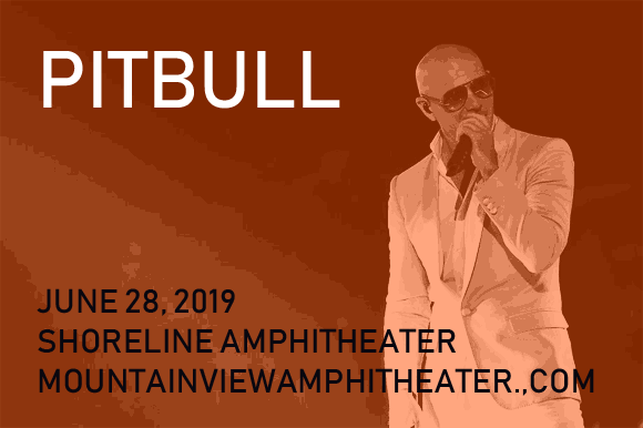Pitbull at Shoreline Amphitheatre