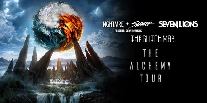 The Alchemy Tour: NGHTMRE + SLANDER, Seven Lions, The Glitch Mob at Shoreline Amphitheatre