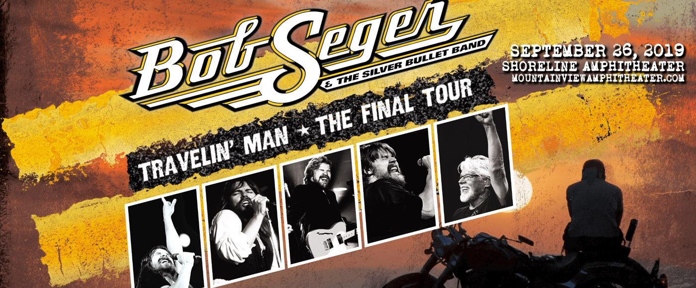 Bob Seger and The Silver Bullet Band at Shoreline Amphitheatre