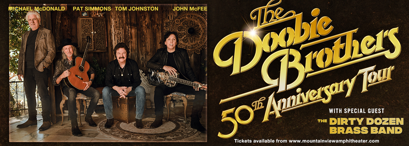 The Doobie Brothers & Michael McDonald at Shoreline Amphitheatre