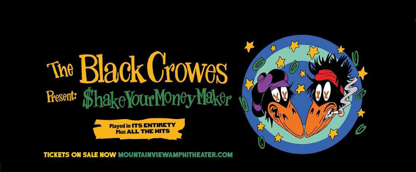 The Black Crowes [POSTPONED] at Shoreline Amphitheatre