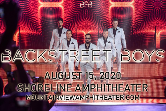 Backstreet Boys at Shoreline Amphitheatre